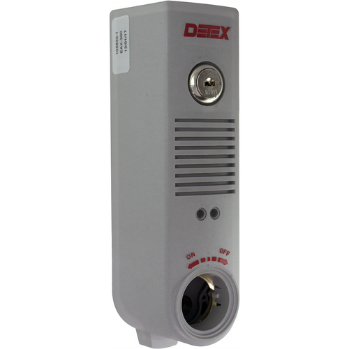 Detex EAX500 Surface Mount Battery Alarm Gray Finish