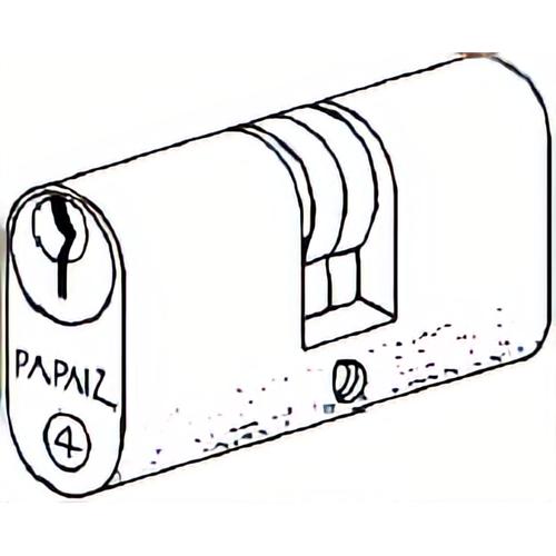 Papaiz C400/55KA5 Brass Double Keyed