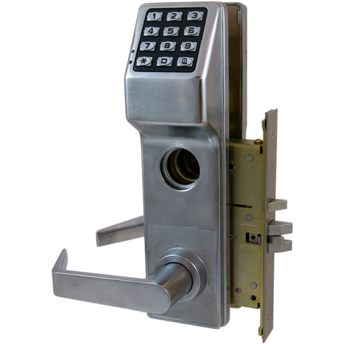 Alarm Lock DL2700CRL/26D Left Hand Trilogy Electronic Digital Classroom Lever Lock Satin Chrome Finish