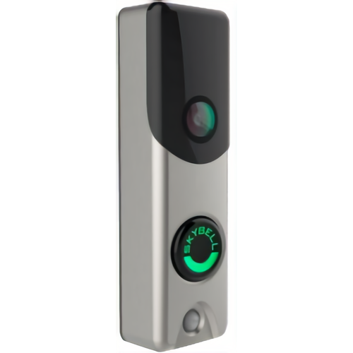 Alarm.com ADC-VDB105 Slim Line Doorbell Camera Satin Nickel