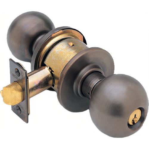 Schlage A80PDORB613-2-3/4 BS Grade 2 Storeroom Knob Orbit