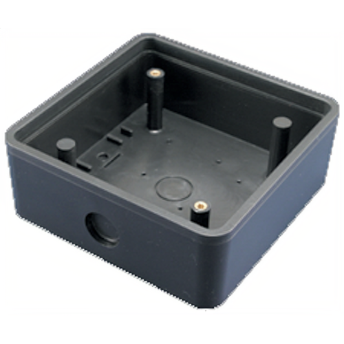 BEA 10BOX475SQSM Push Plate Surface Mnt Box 4.75in Square