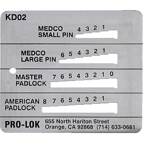 Pro-Lok KD2 Decoder Med-med-mas-ama