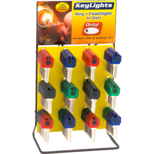 Key Lights STARTER KIT 60 Pc Loaded Rack 40 Kw1 20 Sc1