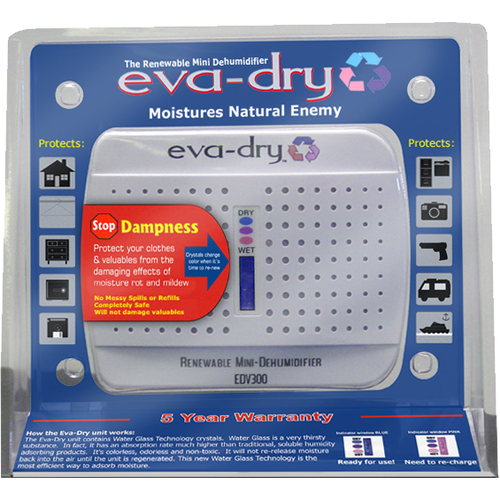 Eva-Dry EVA-DRY-333 Safe Dehumidifier