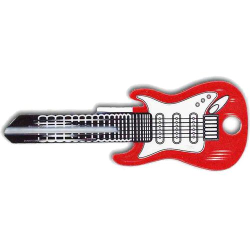 Rockin Keys 3664 Kw1 Red Fender Guitar Key