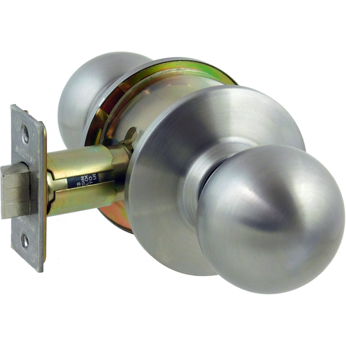 Dexter C2000-PASS-B-630 Passage Grade 2 Ball Knob Non Clutching Cylindrical Lock with 2-3/4