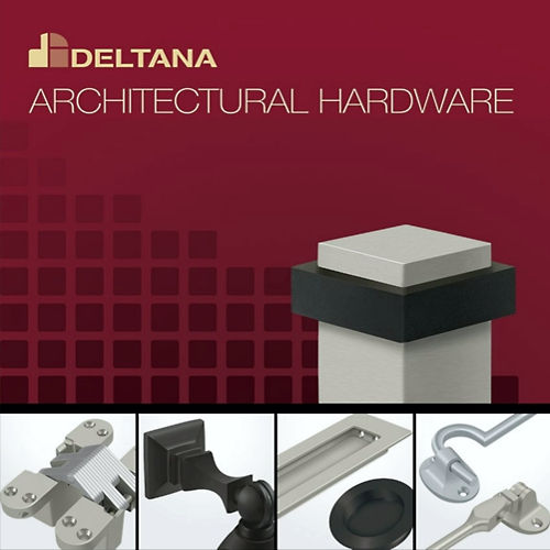 Deltana SP6FBU10B Strike Plate For 6