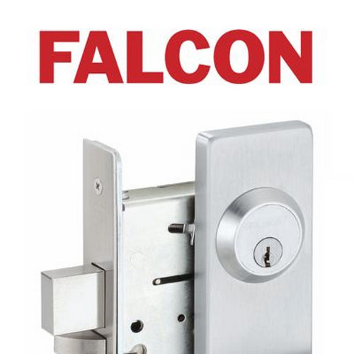 Falcon Lock AXF25VEO26D3LBR AFL Fire Rated 3' Accessible Device Surface Vertical Rod Exit Device Only Less Bottom Rod with Auxiliary Fire Latch Sat...