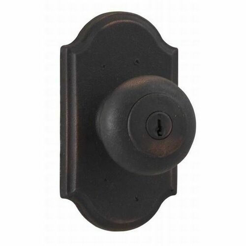 Weslock 07140F1F1SL23 Wexford Premiere Entry Lock with Adjustable Latch and Full Lip Strike Oil Rubbed Bronze Finish