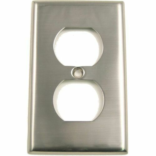 Rusticware 783SN Single Outlet Switch Plate Satin Nickel Finish