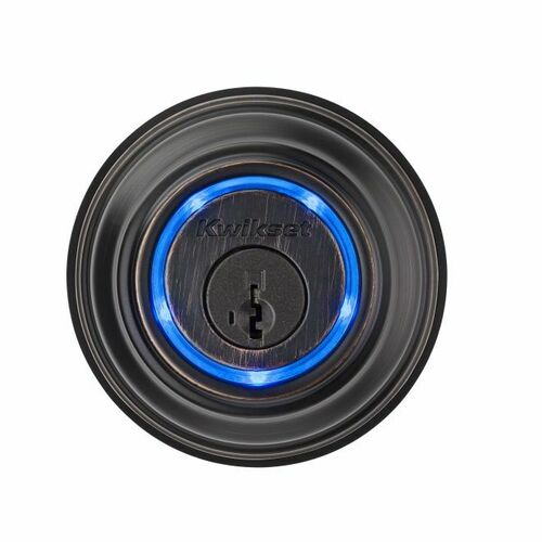Kwikset 925KEVO2-11PS Second Generation Kevo Bluetooth Enabled Deadbolt SmartKey with RCAL Latch and RCS Strike Venetian Bronze Finish